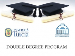 Double Degree Program with the University of Tuscia, Italy